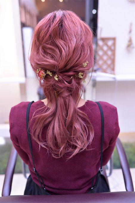 ピンク系カラーの人気色!ピラミンゴカラー